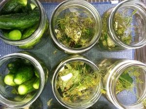 Stuffing jars